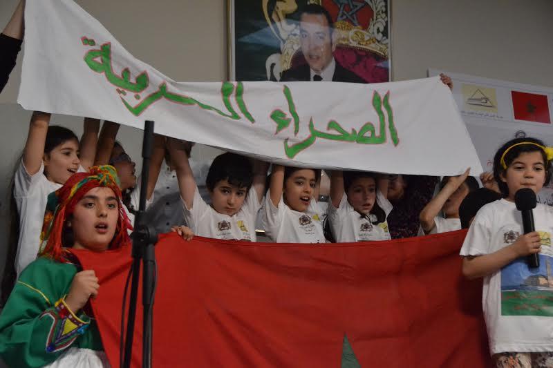 صورة أطفال الجالية ببلجيكا يتألقون في حفل اللغة العربية والثقافة المغربية