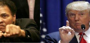 صور| ماذا قال دونالد ترامب عن محمد علي كلاي بعد وفاته ؟