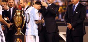 بالصور.. ميسي من جديد بقميص الأرجنتين!