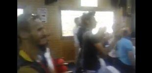 خطير و بالفيديو: شعارات مؤيدة لجبهة البوليساريو من قاعة تابعة للدولة