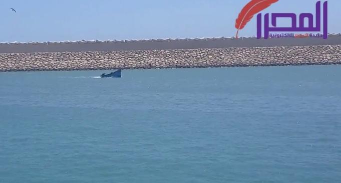 صورة ارساء قوارب الصيد بمرسى بوجدور بالصحراء المغربية
