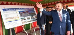 """الملك يعطي انطلاقة أشغال إنجاز """"مركز صحي للقرب – مؤسسة محمد الخامس للتضامن"""" بالمدينة الجديدة الرحمة"""