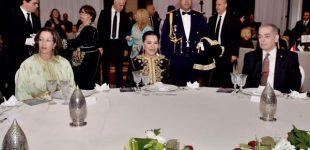 الأميرة للاحسناء تترأس حفل عشاء خيري بالرباط