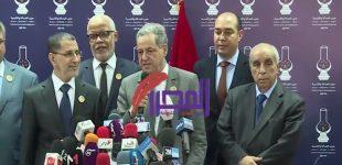 أحمد العنصر عقب انتهاء المشاورات مع رئيس الحكومة