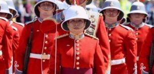 عشرينية قائدة لحرس الملكة إليزابيث