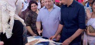 بالصور…بشار الأسد يتجول بأحد الأسواق الشعبية بدمشق