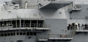 وزارة الدفاع الروسية تسخر من حاملة طائرات بريطانية