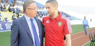 لقجع : أتواصل مع زياش و أؤكد أنه سيعود قريبا للمنتخب المغربي