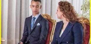صورة حب واحترام بين الأميرة للا سلمى وولي العهد مولاي الحسن تثير إعجاب المغاربة