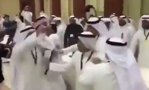 الوفد القطري يضرب الوفد السعودي في اجتماع مجلس التعاون الخليجي بالكويت 2017