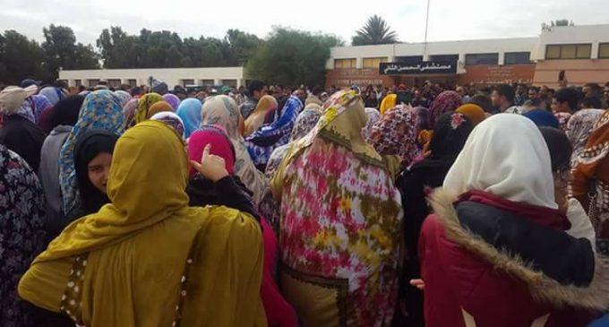 احتجاجات ساكنة طانطان تطيح بمدير المستشفى الإقليمي