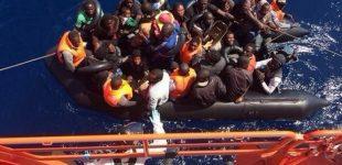 إنقاذ 55 مهاجرا أفريقيا في مضيق جبل طارق