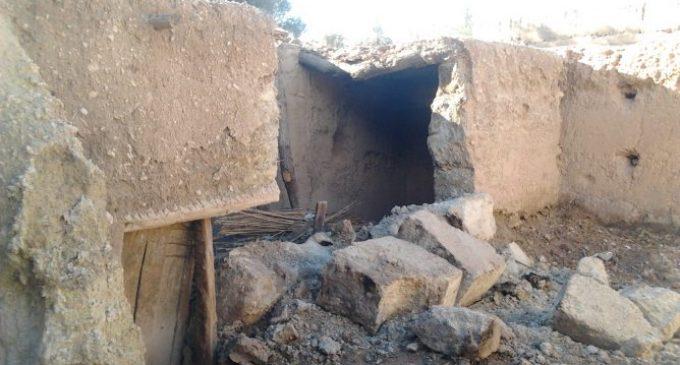 مصرع إمرأة بعد إنهيار سقف منزلها الطيني بضواحي الحوز