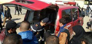 ارتفاع حصيلة المصابين في حادثة انقلاب حافلة بإقليم آسفي