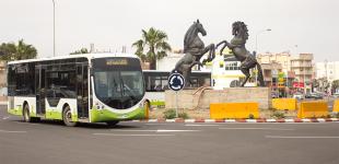 عصابة ملثمة تهاجم حافلات النقل الحضري لمدينة الجديدة