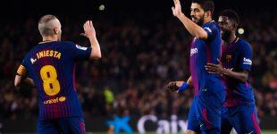 برشلونة يواجه فالنسيا في نصف نهائي كأس ملك إسبانيا