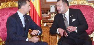 برقية تهنئة من الملك محمد السادس للعاهل الإسباني بمناسبة عيد ميلاده