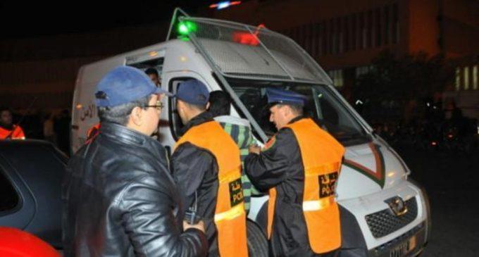توقيف شخصين بحوزتها معدات تمس بالأمن و النظام العامين