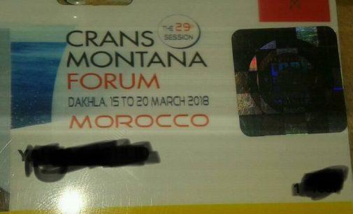 """كرانس مونتانا: تقديم نشطاء فايسبوكيين ب """"بادجات"""" الصحافة"""