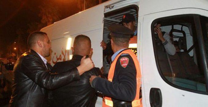 """الأمن يعتقل 10 أشخاص استغلوا اندلاع الحريق بـ""""سوق إنزكان"""" من اجل السرقة"""