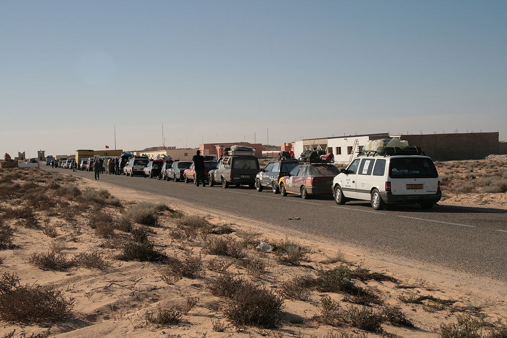 صورة وزارة الداخلية تتدخل لفك معتصم لكركرات