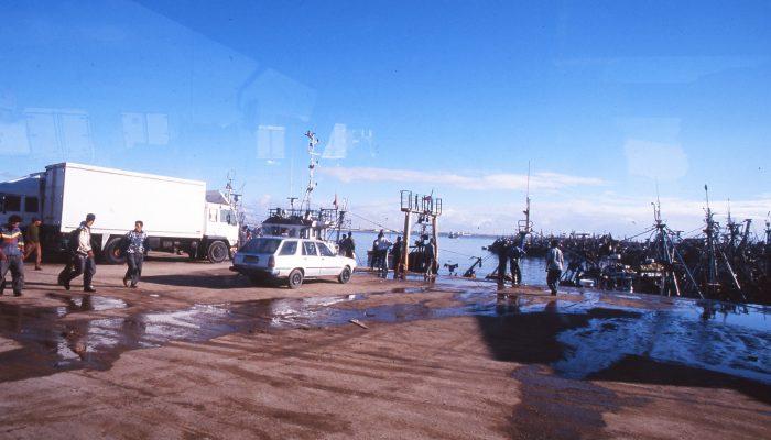 صورة ميناء بوجدور بين مطرقة الكوكايين و سندان الخندقة