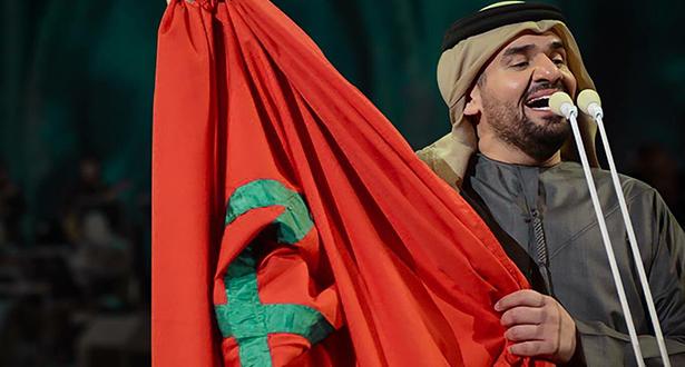 صورة بالفيديو..حسين الجسمي يتألق في أداء أغنية الحرم يا رسول الله