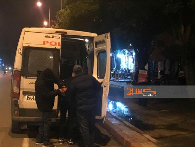 صورة إيقاف عشريني اعتدى على مهاجر بعد خروجه من المسجد!
