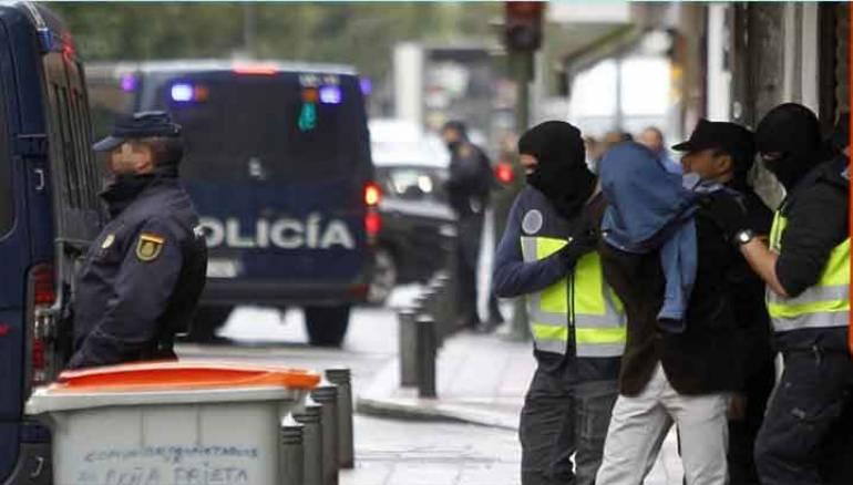 صورة اعتقال مغاربة ضمن عصابة اجرامية تنشط غي اسبانيا