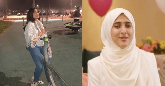 """صورة المغربية امينة كرم منشدة """"طيور الجنة"""" خلعت حجابها وأثارت ضجة كبيرة بإطلالة جريئة جدا"""