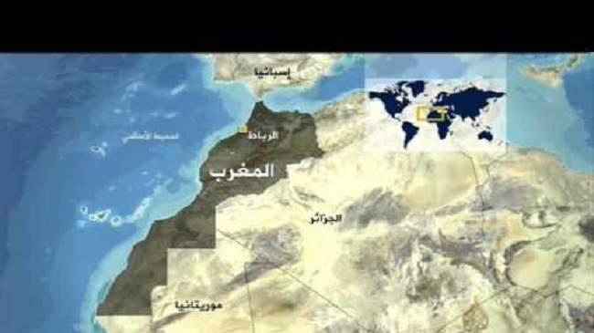 """صورة خريطة المغرب في لقاء بمصر تخرج ممثلة الجزائر عن """"صوابها"""""""