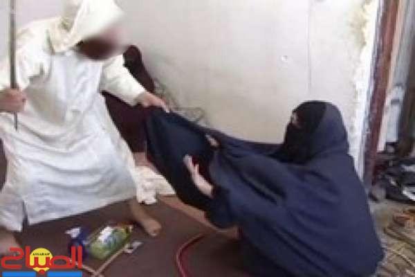 صورة استاذ يقتل زوجته خلال حصة رقية استعمل فيها الضرب المبرح