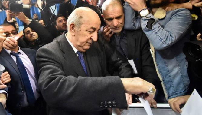 صورة موقف الرئيس الجزائري تبون من الصحراء  تابت
