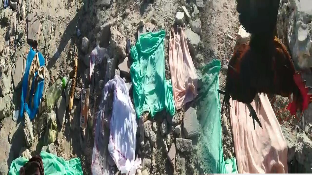 صورة ياربي السلامة..العثور على ملابس فتاة استعملت في عملية سحر وشعوذة بالداخلة