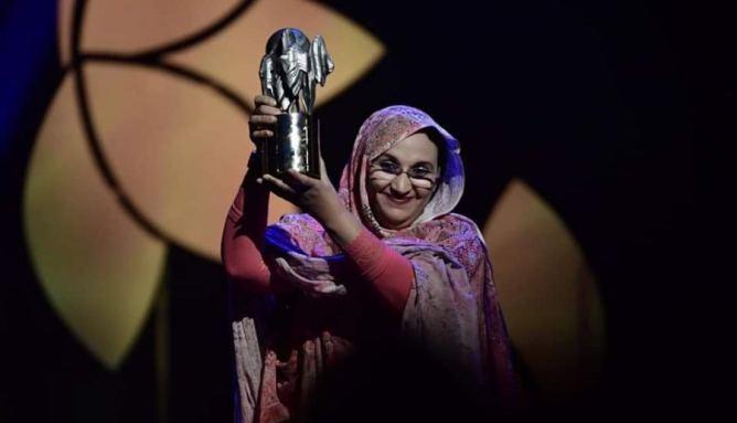 صورة جائزة نوبل البدبلة من نصيب الانفصالية أميناتو حيدر