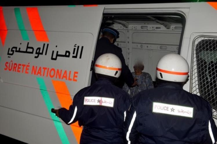 صورة إصابة أمنيين في هجوم مسلح من طرف عصابة بالبيضاء