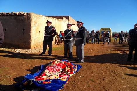 صورة نزاع حول بقعة أرضية ينتهي بجريمة قتل بأحد دواوير الصويرة