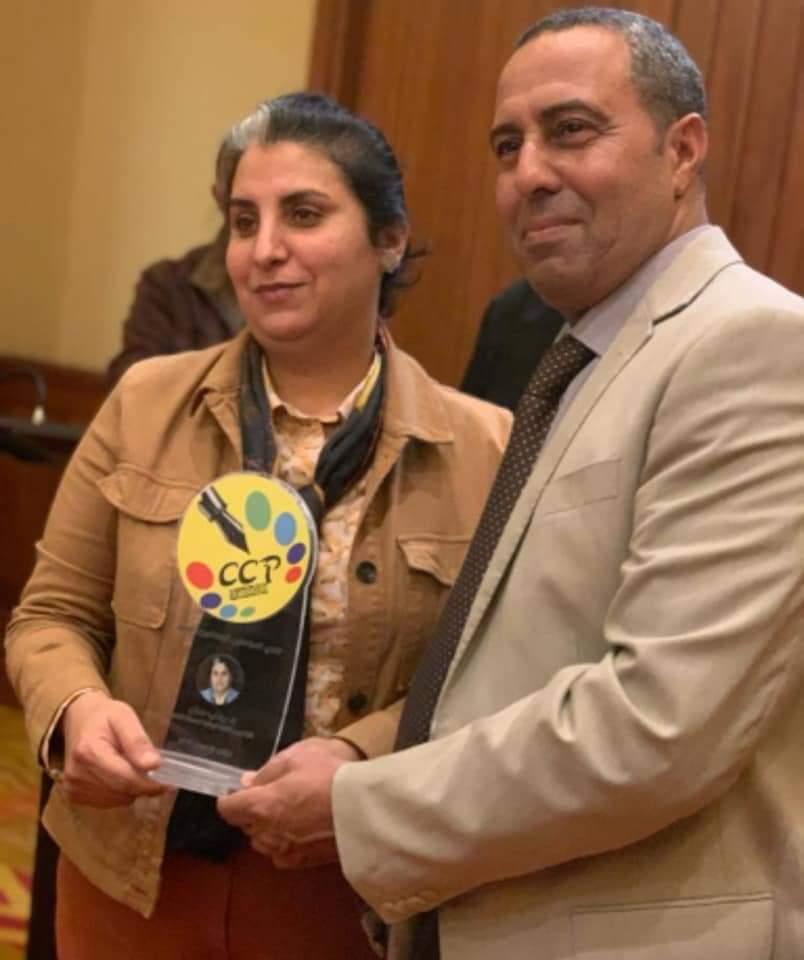 صورة لقاء حول ميثاق أخلاقيات مهنة الصحافة يتوج بتكريم الزميل أحمد امشكح الفائزة بجائزة العمود الرياضي 2019
