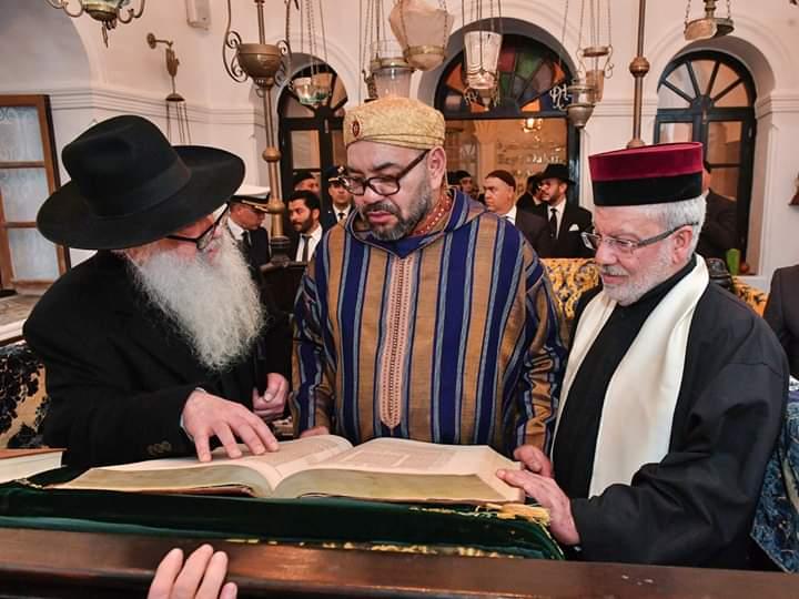 صورة رئيس دولة إسرائيل يبعث رسالة إلى العاهل المغربي محمد السادس