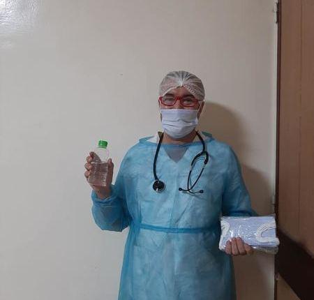 صورة طبيب بأكادير: لا تصلنا وسائل الوقاية من كورونا وأشتري الكمامات من جيبي