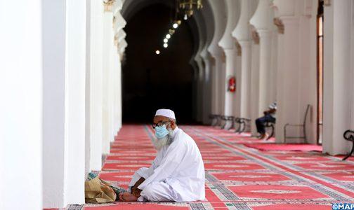 صورة الرفع من عدد المساجد المفتوحة  وإقامة صلاة الجمعة فيها ابتداء من يوم الجمعة المقبل