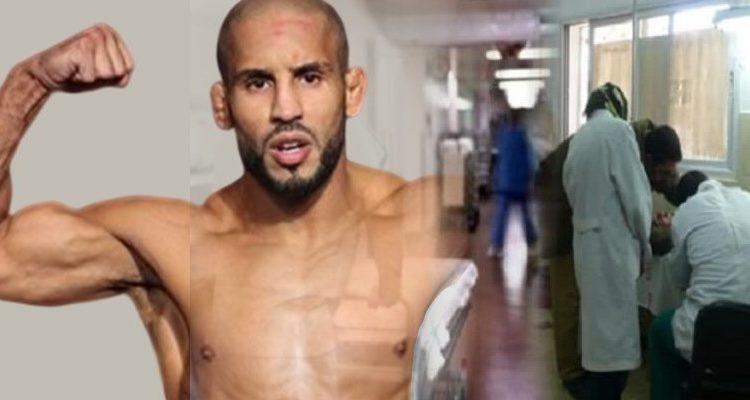 صورة نقل بوزعيتر إلى المستشفى العسكري بعد تعرضه لكسر خطير !