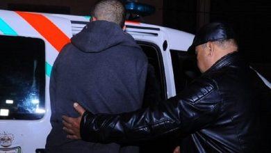 """صورة اعتقال """"كولونيل"""" مزيف نفذ عمليات نصب بعدد من المدن المغربية"""
