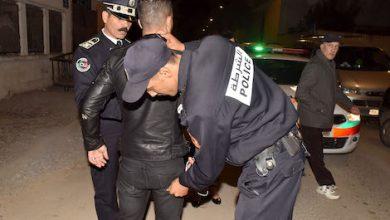 """صورة """"ولد الرايس"""" بين يدي الأمن بسلا"""