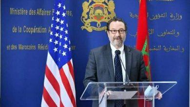 صورة مساعد وزير الخارجية الأمريكي يحل بالعيون