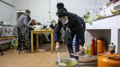 صورة الجالية المغربية : مجموعة التحدي برشلونة تقوم بعمل إنساني نبيل .