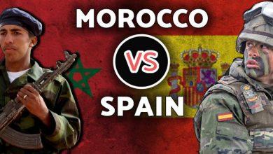 صورة مجلات متخصصة تنشر مقارنة بين الجيشين المغربي و الاسباني