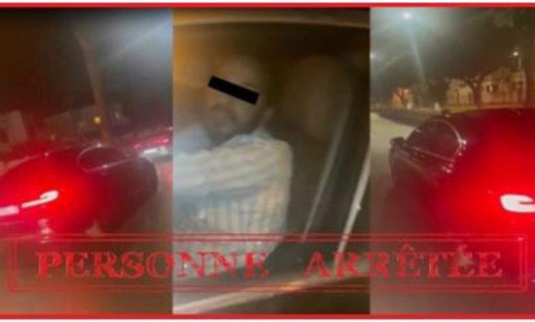 توقيف شخصين على خلفية فيديو يوثق صدم و هروب بسيارة في الدار البيضاء